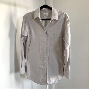 Aritzia Oxford Boyfriend Shirt